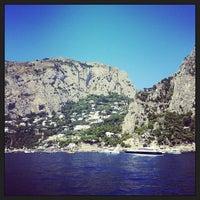Foto scattata a Marina Piccola di Capri da Marco G. il 8/2/2013