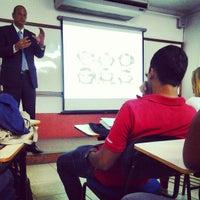 Photo taken at Faculdade Pio XII by Nilton C. on 4/23/2013