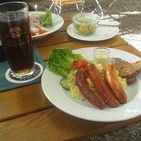Photo taken at Wirtshaus zum Straubinger by Barış Türer on 9/8/2014