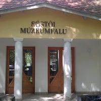 Photo taken at Sostoi Muzeumfalu - Skanzen by Koritár R. on 6/10/2013