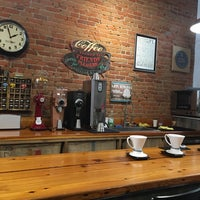 Photo taken at Limestone Coffee Company by Isaac O. on 10/4/2016