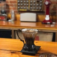 Photo taken at Limestone Coffee Company by Isaac O. on 4/17/2017