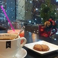 Photo taken at Кофеин by Zhanna P. on 12/4/2012
