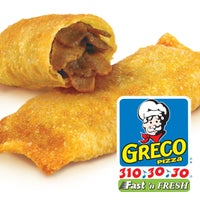 Photo taken at Greco Pizza by Greco Pizza on 8/18/2014