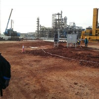 Photo taken at BASF PETRONAS Gebeng by Ashry R. on 8/20/2014