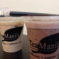 Photo taken at Tea Manila by • * ∘ . ∙🍓Ci Gumba .. on 4/4/2014