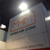 Photo taken at MHM HR - Stand A.04, Halle 6, Messe PERSONAL SÜD by Steffen M. on 4/22/2013
