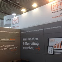 Photo taken at MHM HR - Stand A.04, Halle 6, Messe PERSONAL SÜD by Steffen M. on 5/19/2014