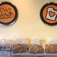 Photo taken at Which Wich? Superior Sandwiches by Which Wich? Superior Sandwiches on 2/16/2015