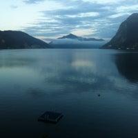 Photo taken at Hotel Lido Seegarten Lugano by Michele T. on 5/28/2014