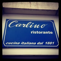 Photo taken at Carlino Ristorante by Niedson A. on 6/20/2012