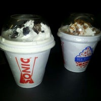 Photo taken at SONIC Drive In by Elaine M. on 6/15/2012