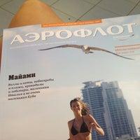 Photo taken at Аэрофлот by Annie🐱 V. on 7/13/2012