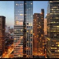 Photo taken at Distrikt Hotel New York City by Miranda M. on 4/28/2012