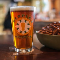 Photo taken at People's Brewing Company by People's Brewing Company on 8/19/2014