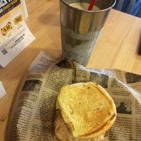 Photo taken at Jake's Wayback Burger by Adeola A. on 7/14/2015