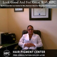 Photo taken at HPC Scalp MicroPigmentation Center by Dr. Andrea E. on 8/18/2014