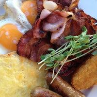 Photo taken at Café Café by Janice B. on 2/23/2013