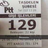 Photo taken at Taşdelen PTT Şubesi by Edanur on 6/25/2015