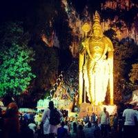 Photo taken at Sri Subramaniar Temple Batu Caves by Kochadaiiyaan on 1/25/2013