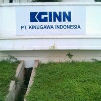 Photo taken at PT. Kinugawa Indonesia by Agi Aditya S. on 2/14/2013