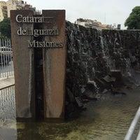 Photo taken at Monumento a las Cataratas del Iguazú by Christian D. on 2/19/2016