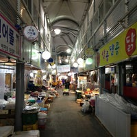 Photo taken at Gangneung Central Market by pponj on 2/14/2013