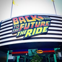 Photo taken at Back To The Future - The Ride by Nathawut L. on 1/20/2015