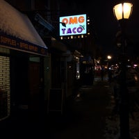 Photo taken at OMG Taco by Tommy D. on 1/26/2014