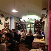 Photo taken at Trattoria Aldente Italiana by Tommy D. on 3/30/2013
