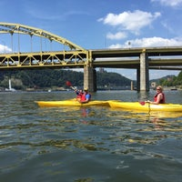 Photo taken at Kayak Pittsburgh by Sara D. on 8/15/2015