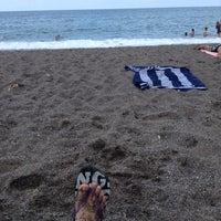 Photo taken at Mustafanın Yeri Beach by Asya C. on 8/25/2014
