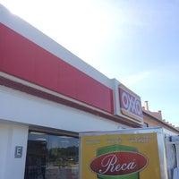 Photo taken at Oxxo Tenabo by Bebidas R. on 8/19/2014