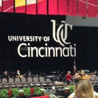 Photo taken at Fifth Third Arena | Myrl H Shoemaker Center by Stephanie W. on 4/27/2013