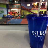 Photo taken at Gwinnett gymnastics center by Teela J. on 11/25/2013