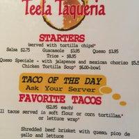 Photo taken at Teela Taqueria by Teela J. on 6/7/2016