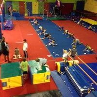 Photo taken at Gwinnett gymnastics center by Teela J. on 10/28/2013