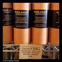 Foto scattata a Dude, Sweet Chocolate da Dallas Foodie (. il 12/9/2012