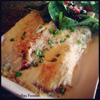 Photo taken at Main Street Bistro & Bakery by Dallas Foodie (. on 4/24/2013