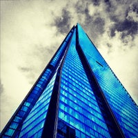 Photo taken at The Shard by daniel h. on 10/31/2012