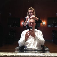 Photo taken at Men's Room Salon by Scott C. on 10/8/2013
