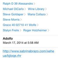 Photo taken at Spiotta Salon by Stalyn F. on 3/17/2014
