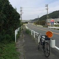 Photo taken at 潮見坂(国道42号線) by えんそにっく on 10/21/2016