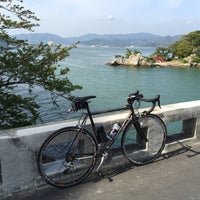 Photo taken at 瀬戸橋 by えんそにっく on 4/16/2016
