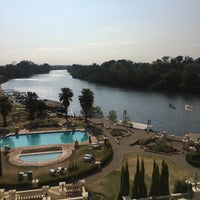Photo taken at Riviera On Vaal Hotel & Country Club by Mohamed Z. on 9/24/2017