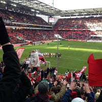 Photo taken at RheinEnergieStadion by thomas k. on 2/2/2013
