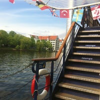 Photo taken at Eastern Comfort Hostelboat by Eszter E. on 5/10/2013