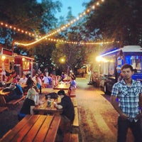 Photo taken at Fort Worth Food Park by Nate F. on 5/26/2013