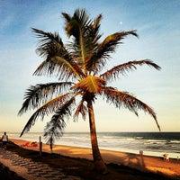 Photo taken at Praia de Ipitanga by Jean S. on 11/25/2012