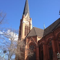 Photo taken at American Church in Berlin by Dwight L. on 4/7/2013